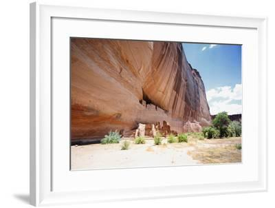 White House Ruins , Canyon De Chelly, AZ-George Oze-Framed Photographic Print