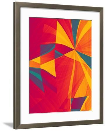 Sectional Fusion-Ruth Palmer-Framed Art Print