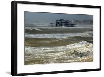 Brighton Storm-Charles Bowman-Framed Photographic Print