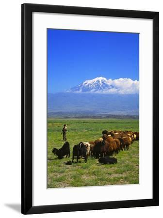 Mount Ararat-Charles Bowman-Framed Photographic Print