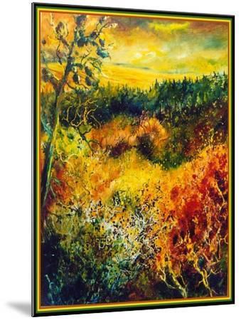 Autumn Landscape Albole-Pol Ledent-Mounted Art Print