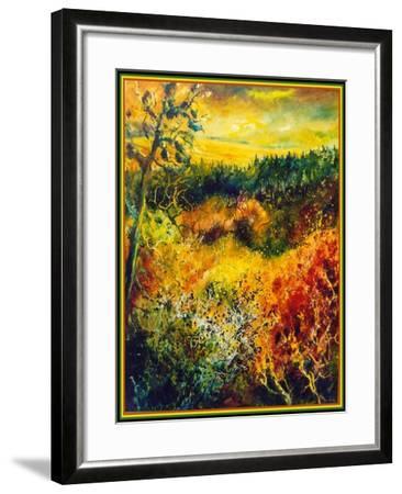 Autumn Landscape Albole-Pol Ledent-Framed Art Print