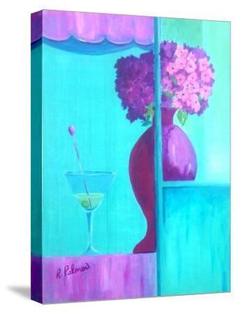 Martini Majenta-Ruth Palmer-Stretched Canvas Print