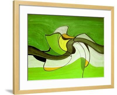 Meeting in the Middle VI-Ruth Palmer-Framed Art Print