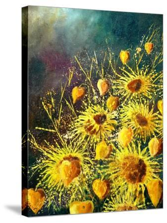 Sunflowers-Pol Ledent-Stretched Canvas Print