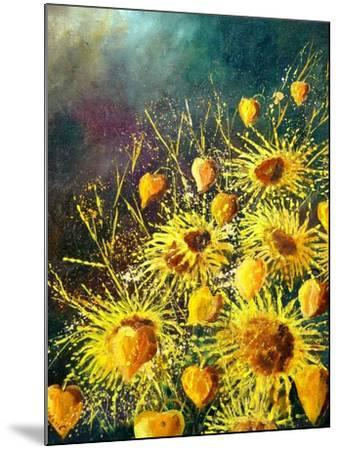Sunflowers-Pol Ledent-Mounted Art Print