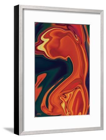 In Love-Rabi Khan-Framed Art Print