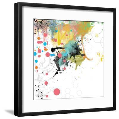 Beyond the Horizon 2-Jan Weiss-Framed Art Print