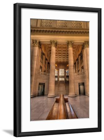 Chicagos Union Station Waiting Hall-Steve Gadomski-Framed Photographic Print
