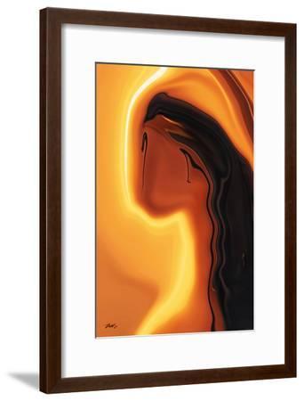 Sun-Kissed-Rabi Khan-Framed Art Print