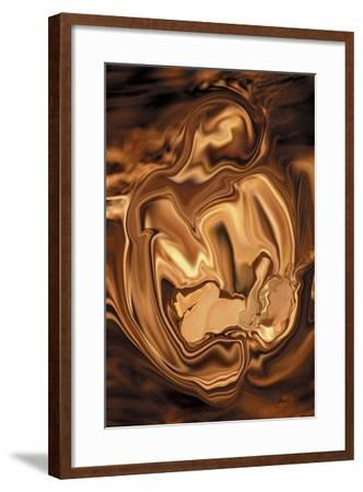 Safe-In-Her-Arms-Rabi Khan-Framed Art Print