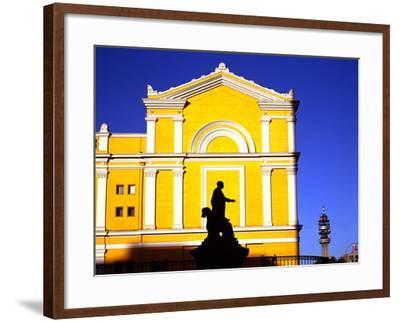 Santiago University-Charles Bowman-Framed Photographic Print