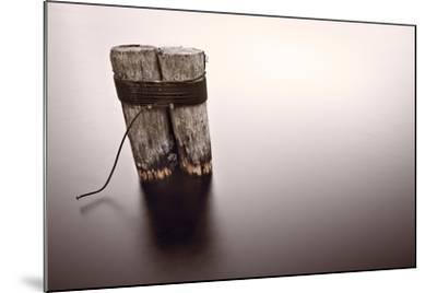 Wisconsin River Post Pile-Steve Gadomski-Mounted Photographic Print