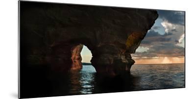 Apostle Islands Sea Cave-Steve Gadomski-Mounted Photographic Print