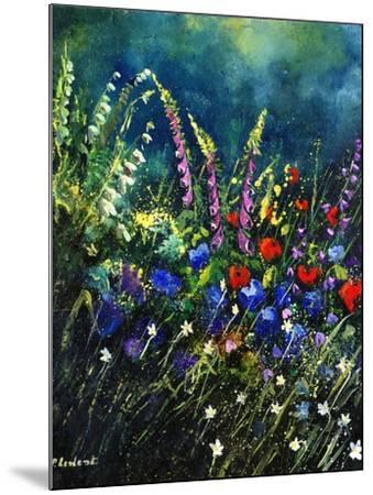 flowers-Pol Ledent-Mounted Art Print