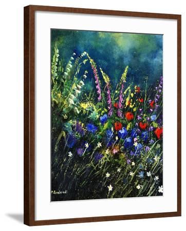 flowers-Pol Ledent-Framed Art Print