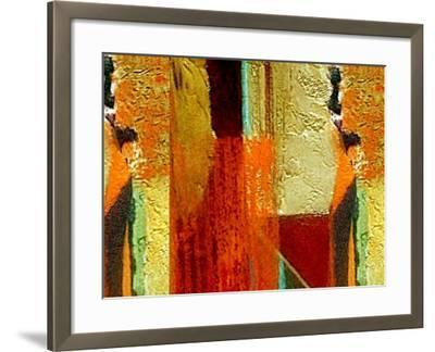 Bricks and Mortar-Ruth Palmer-Framed Art Print