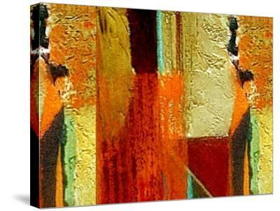 Bricks and Mortar-Ruth Palmer-Stretched Canvas Print