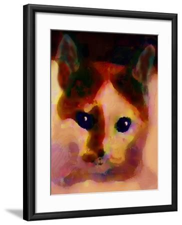 Tinsy Cat-Kenny Primmer-Framed Art Print