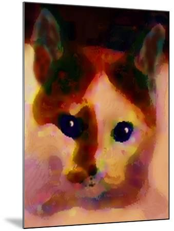 Tinsy Cat-Kenny Primmer-Mounted Art Print