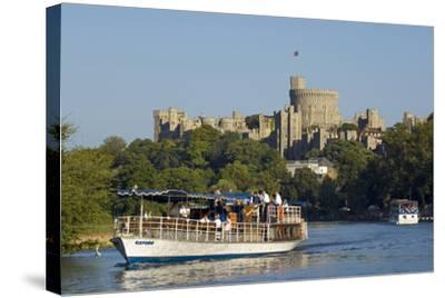 Windsor Castle-Charles Bowman-Stretched Canvas Print