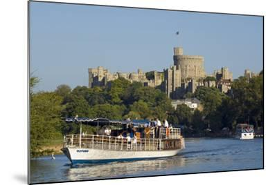 Windsor Castle-Charles Bowman-Mounted Photographic Print