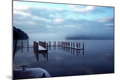 Wintery Derwentwater-Charles Bowman-Mounted Photographic Print