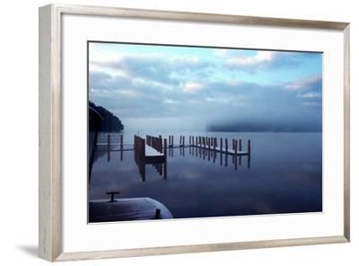 Wintery Derwentwater-Charles Bowman-Framed Photographic Print