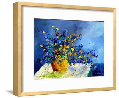 bunch of flowers-Pol Ledent-Framed Art Print