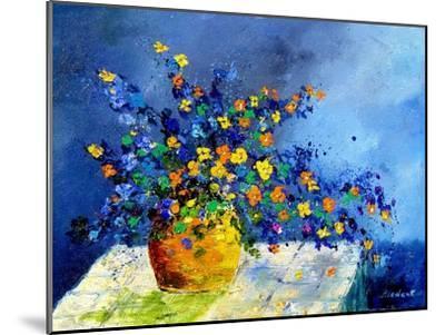 bunch of flowers-Pol Ledent-Mounted Art Print