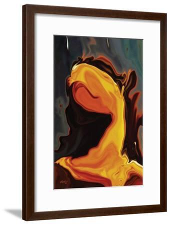 Waiting 4-Rabi Khan-Framed Art Print