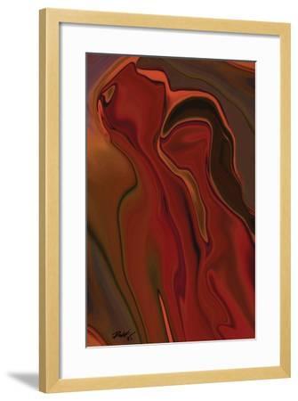 The Two-Rabi Khan-Framed Art Print