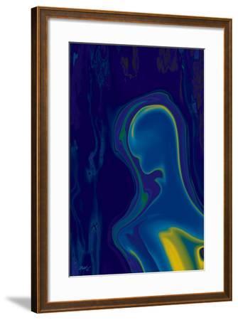 Alien-Rabi Khan-Framed Art Print