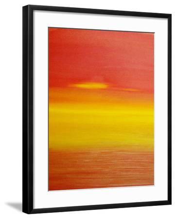 surreal sunset-Kenny Primmer-Framed Art Print