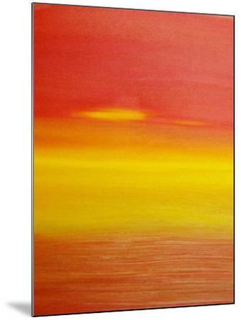 surreal sunset-Kenny Primmer-Mounted Art Print