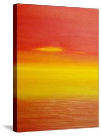 surreal sunset-Kenny Primmer-Stretched Canvas Print