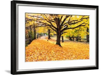 Halloween Outdoor Scenic-George Oze-Framed Photographic Print