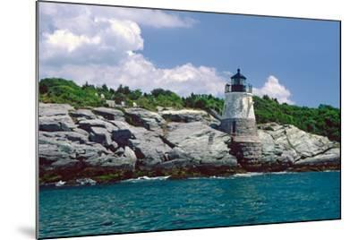 Castle Hill Lighthouse, Newport, RI-George Oze-Mounted Photographic Print