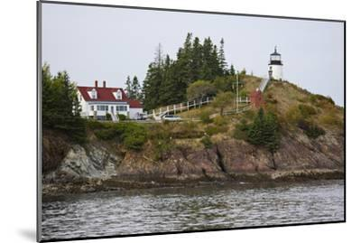 Owls Head Lighthouse, Rockland Harbor, Maine-George Oze-Mounted Photographic Print