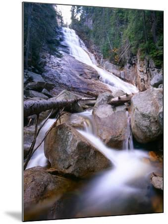 Ripley Falls, New Hampshire-George Oze-Mounted Photographic Print
