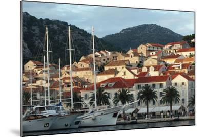 Hvar Harbor, Dalmatian Coast, Croatia-George Oze-Mounted Photographic Print