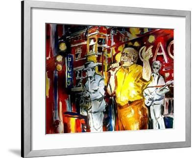 Chicago Blues-Diane Millsap-Framed Art Print