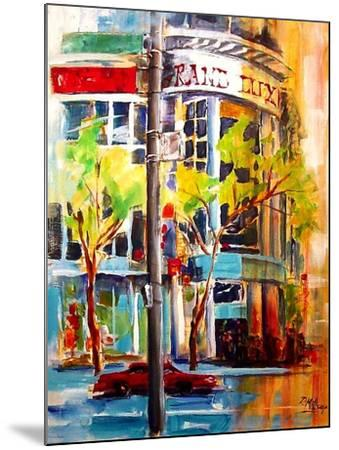 Michigan Avenue - Chicago-Diane Millsap-Mounted Art Print