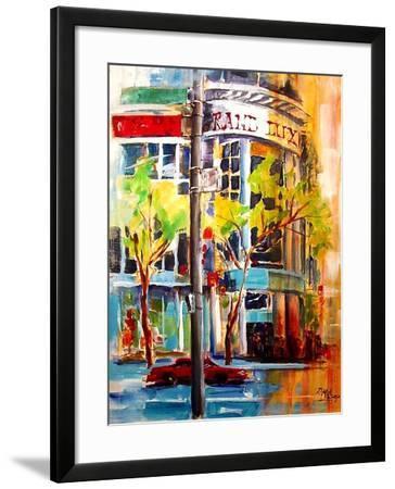 Michigan Avenue - Chicago-Diane Millsap-Framed Art Print