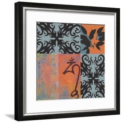 Om-Jan Weiss-Framed Art Print