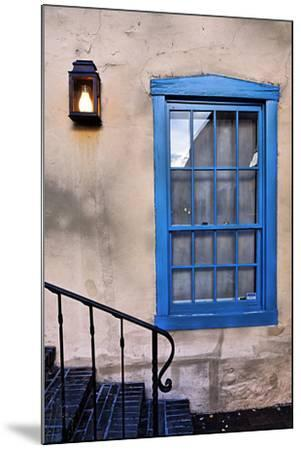 Blue Window, Santa Fe, New Mexico-George Oze-Mounted Photographic Print
