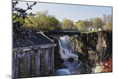 Great Falls of Passaic River, Paterson, NJ-George Oze-Mounted Photographic Print