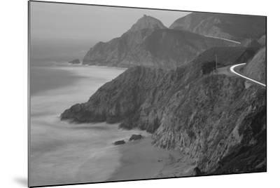 Dusk Highway 1 Pacific Coast CA USA--Mounted Photographic Print