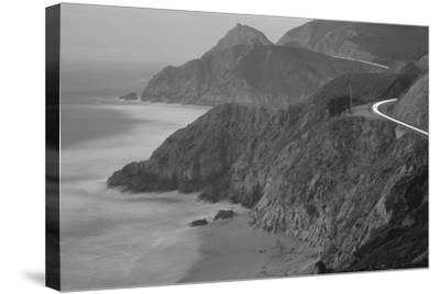 Dusk Highway 1 Pacific Coast CA USA--Stretched Canvas Print