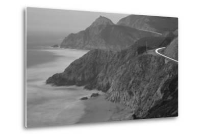 Dusk Highway 1 Pacific Coast CA USA--Metal Print